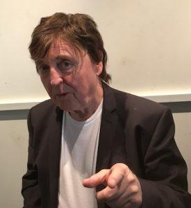 McCartrney Lookalike at West London Film Studio for ITV